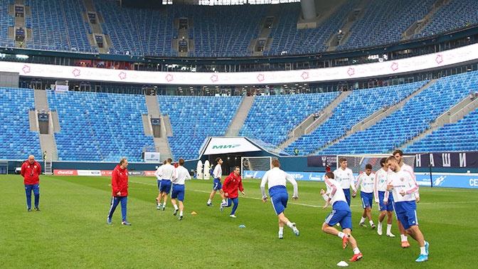 «Мы завидуем такому стадиону»: тренер сборной Бельгии восхитился ареной в Петербурге