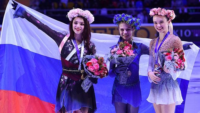 Триумф российского фигурного катания на Гран-при Москвы в фотографиях