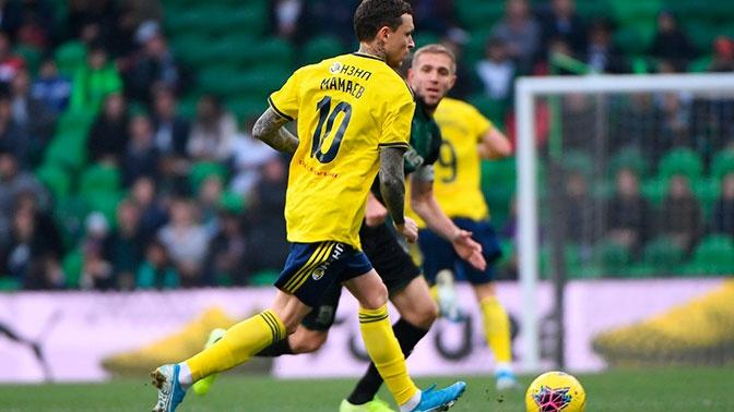 «Ростов» проиграл «Краснодару» в первом матче с участием Мамаева
