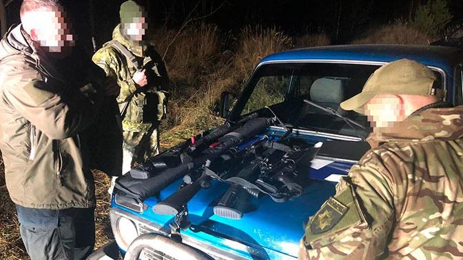 Группа вооруженных людей на внедорожниках задержана в зоне отчуждения ЧАЭС