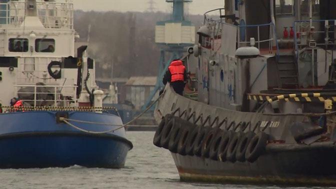 Песков опроверг связь передачи украинских кораблей с международным трибуналом