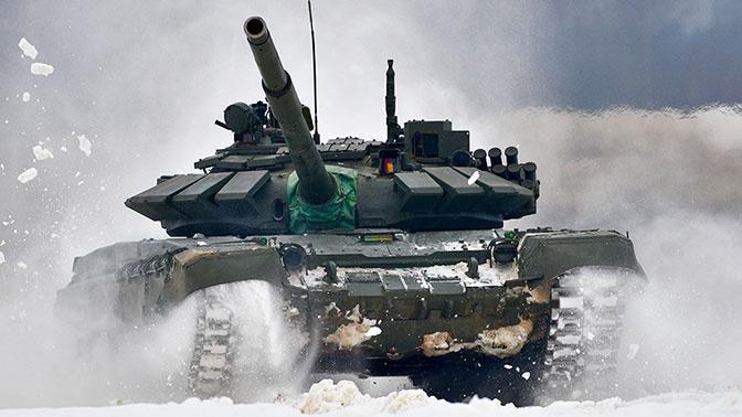 Войска ЗВО получили более 40 танков Т-72Б3М