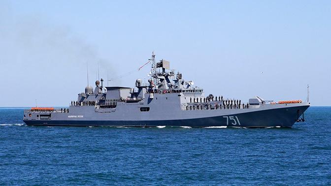 Корабли ЧФ вышли на учения в Черное море