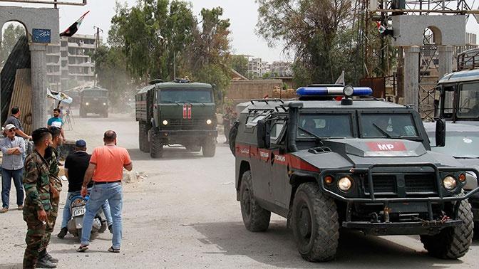 Военная полиция и авиация РФ провели патрулирование в Сирии по шести маршрутам