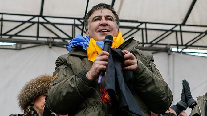 Выдворение Саакашвили с Украины признано законным