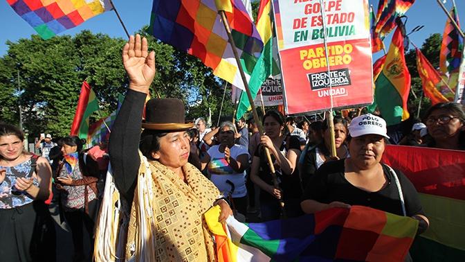 Глава СВР обвинил США в причастности к кризису в Боливии
