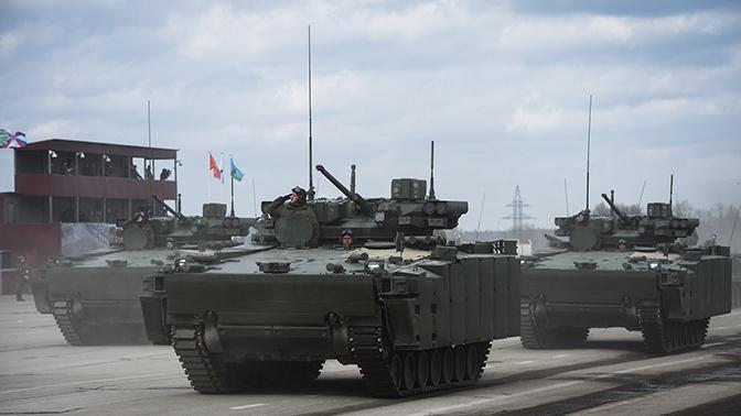 Минобороны подписало контракты на поставку БМП «Курганец-25» и БТР «Бумеранг»