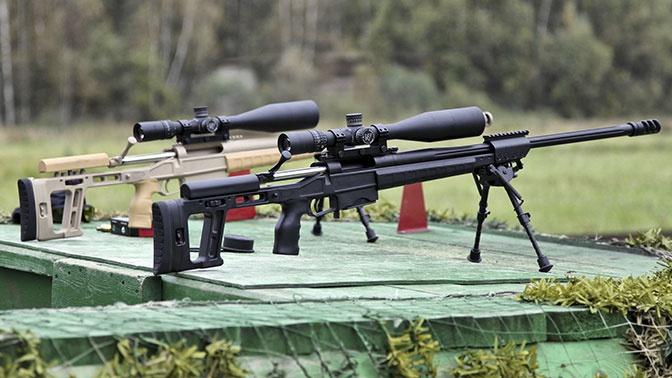 Увеличена дальность поражения одной из самых точных винтовок в РФ