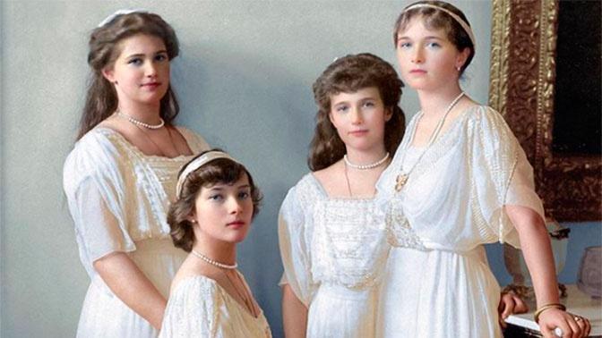 Семья Романовых в цвете: уникальные кадры