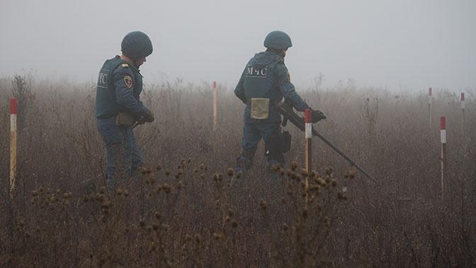 Постпред РФ при ОБСЕ: около мест разведения сил в Донбассе сохраняется минная угроза