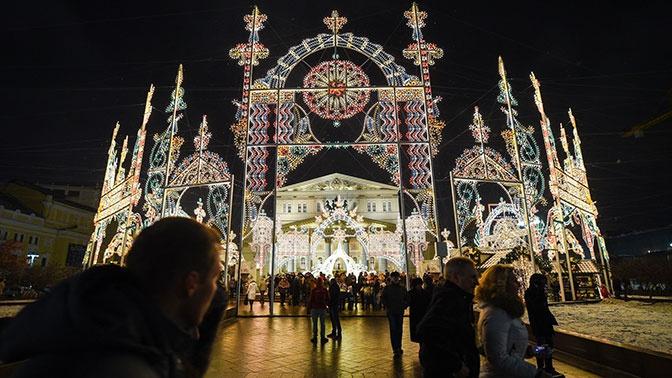 Фотозоны, елки и арки: как преобразится Москва к Новому году