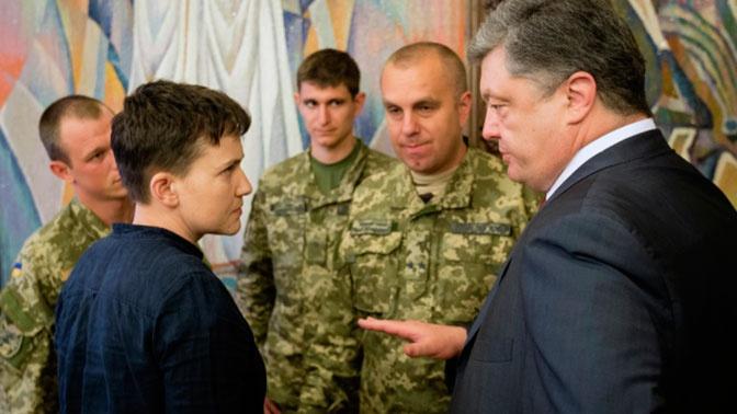 «Жадный, алчный, паршивый»: Савченко рассказала об отвращении к Порошенко
