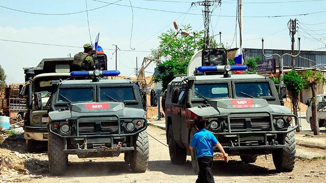 Трое военнослужащих РФ пострадали при взрыве на границе Турции и Сирии