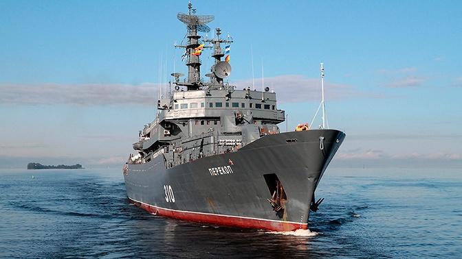 Учебный корабль «Перекоп» через Суэцкий канал вышел в Средиземное море