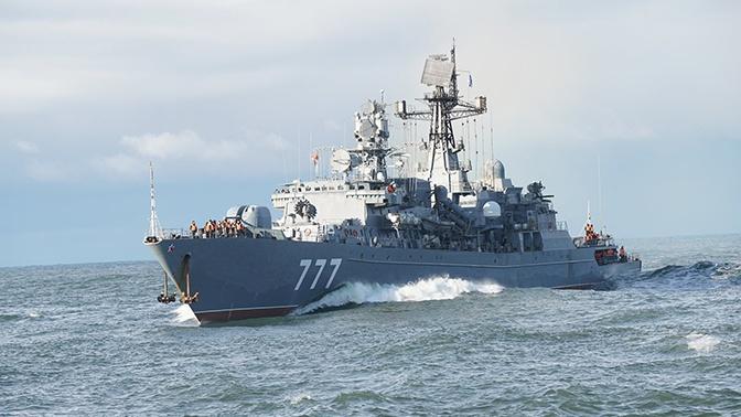 Корабль Балтфлота защитит от пиратов гражданские суда в Аденском заливе