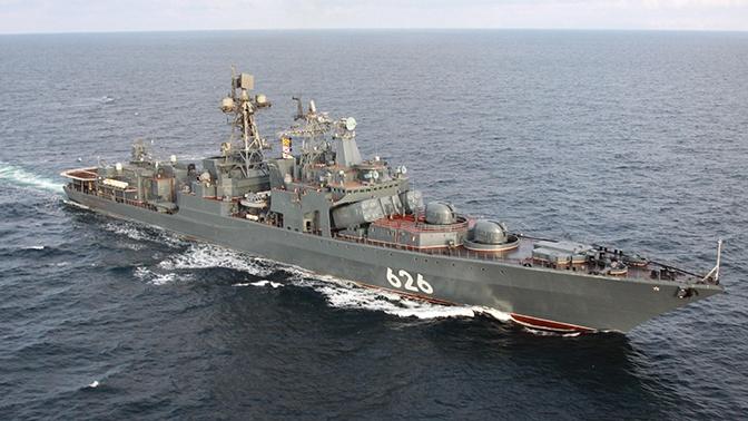 Отряд боевых кораблей Северного флота вышел в дальний поход