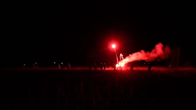 В полной темноте: как участники «Взвода» готовятся к захвату «вражеского» аэродрома