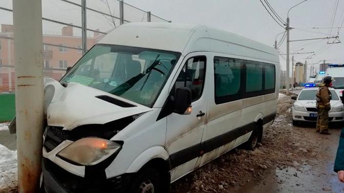 В МВД уточнили число пострадавших в ДТП с маршрутным такси в Калуге