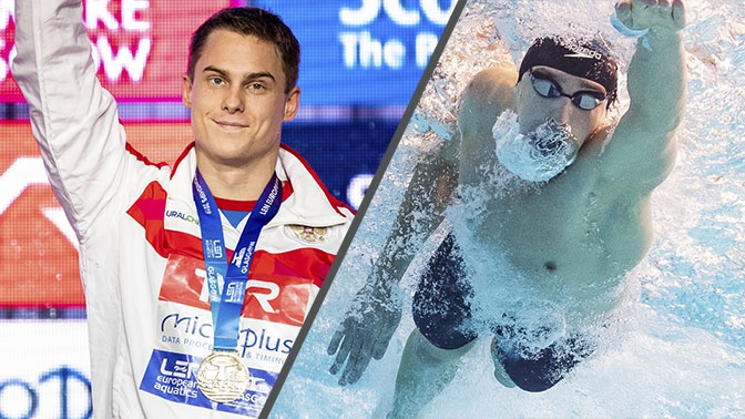 Сборная России завоевала золото ЧЕ в эстафете по плаванию