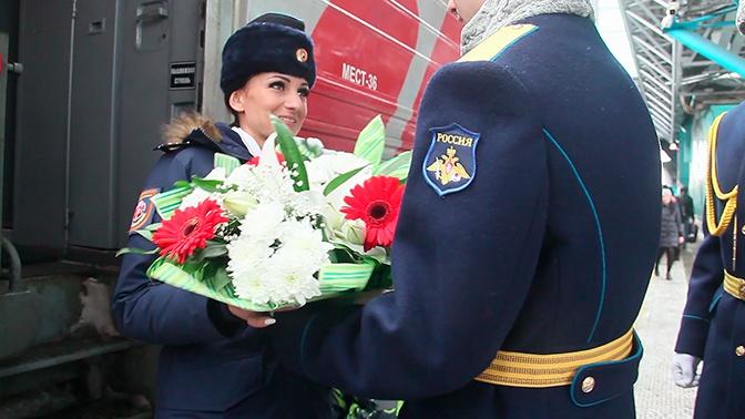 Участнице проекта «Взвод» досрочно дали звание капитана