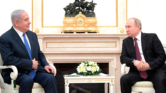 Путин и Нетаньяху обсудили вопросы взаимодействия в Сирии