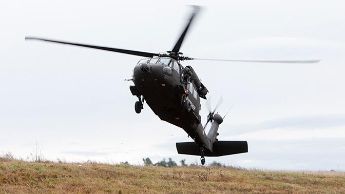 В Миннесоте рухнул вертолет Нацгвардии США