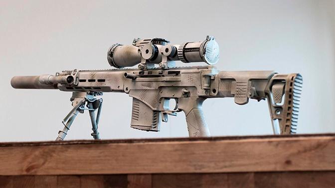 Замена СВД: в США восхитились новой российской снайперской винтовкой