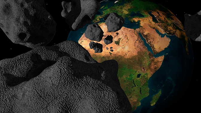 Астрономы назвали дату возвращения пролетевшего мимо Земли астероида