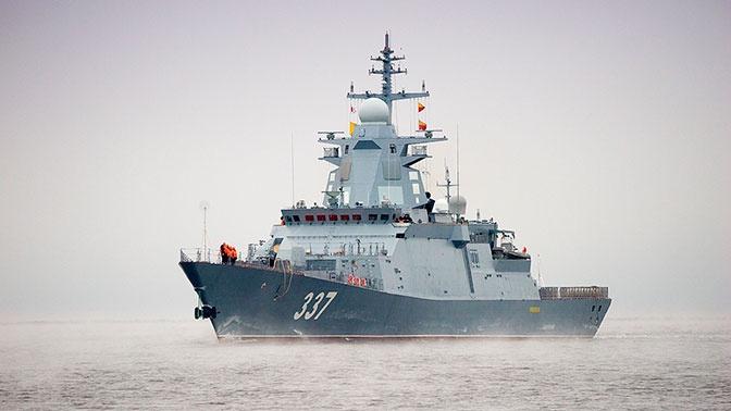 Корвет «Гремящий» провел стрельбы ракетами «Калибр» и «Оникс» в Белом море