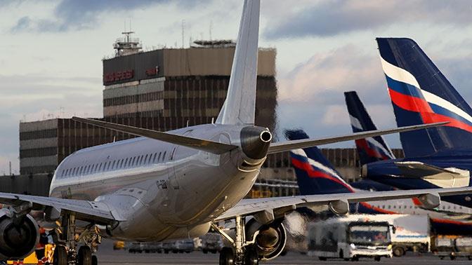 Самолет с неисправным бортовым оборудованием приземлился в Шереметьево