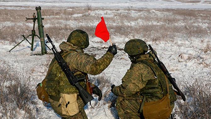 Военнослужащие ЮВО устроили скоростную стрельбу из минометов «Сани»