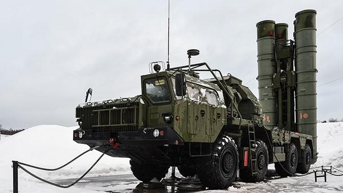 Расчеты С-400 «Триумф» отразили авиаудар «противника» в Сибири