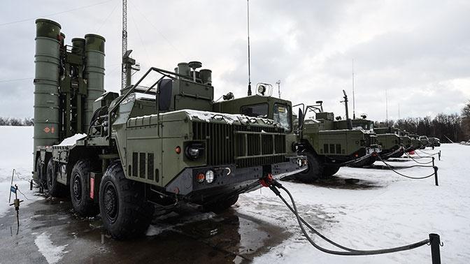 ЗВО получил новую зенитную ракетную систему С-400 «Триумф»