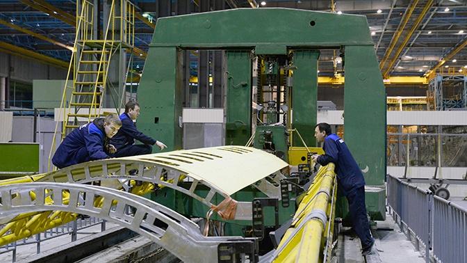 Изготовлены первые панели фюзеляжа Ил-114-300