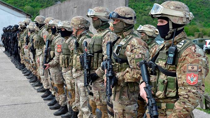 Российские военные проинспектируют объект вооруженных сил Черногории