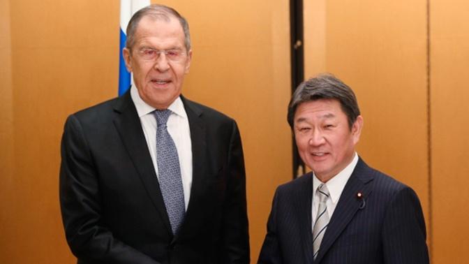 Лавров рассчитывает, что Москва и Токио смогут продвинуться по вопросу мирного договора