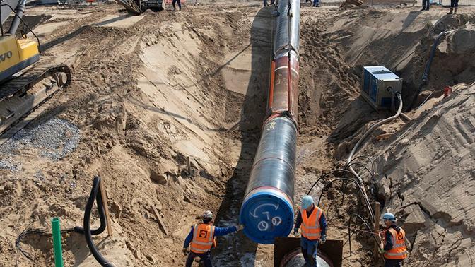 Швейцарский подрядчик «Северного потока - 2» остановил работу