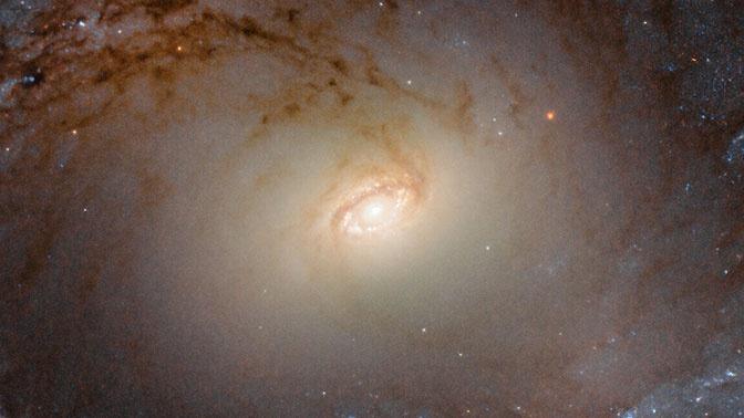 Телескоп Hubble снял «летающую тарелку» в созвездии Mensa