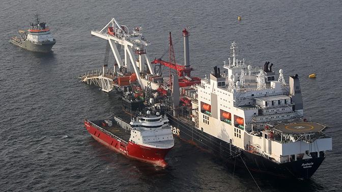 Компания Allseas отвела суда из района прокладки «Северного потока - 2»