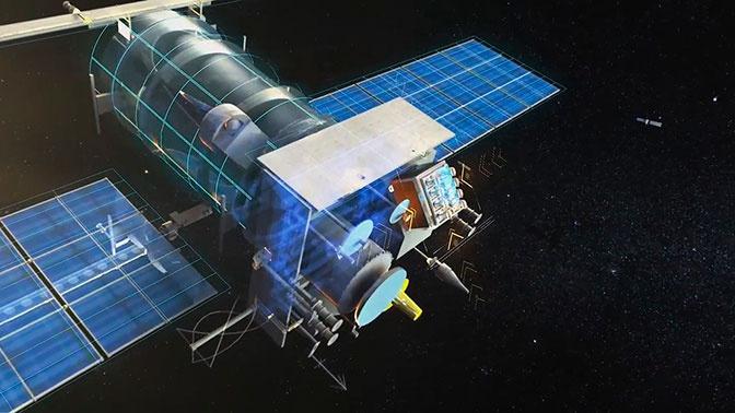Микрометеорит врезался в российский спутник