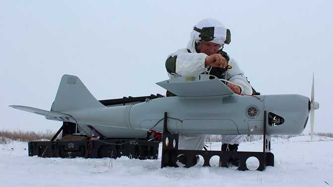 Танковая армия ЗВО получит беспилотники «Орлан-10»