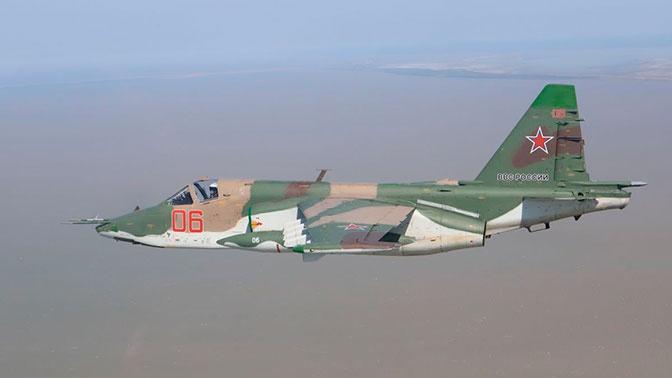 Су-25СМ3 «разбомбили» заглубленный командный пункт «террористов» на Кубани
