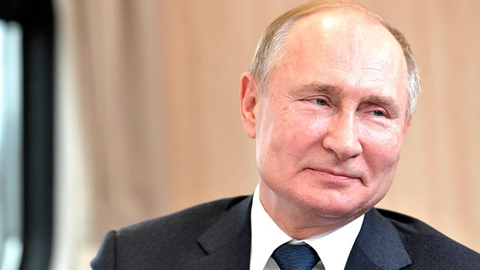 Россияне назвали Путина политиком года
