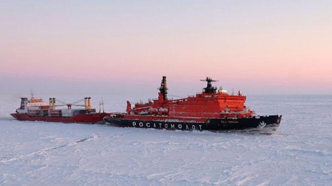 Семь новых ледоколов построят для Севморпути