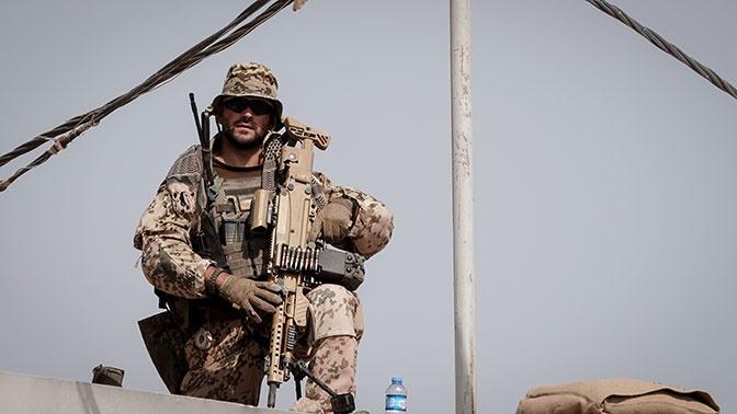 Военная база США в Ираке подверглась ракетному обстрелу