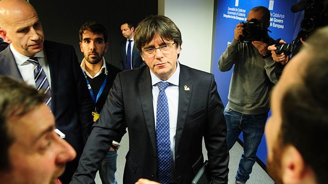 Бельгия отказала Испании в выдаче экс-главы Каталонии