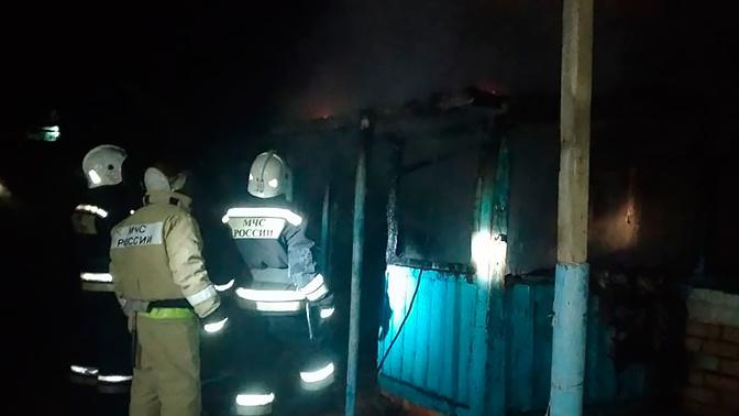 Трое взрослых и один ребенок погибли во время пожара в частном доме на Ставрополье