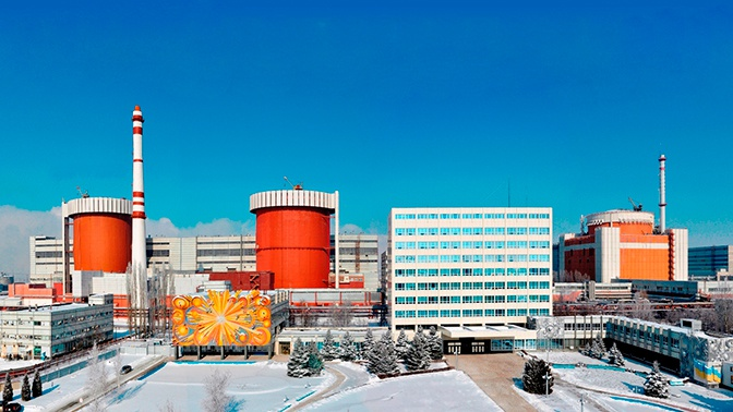 На Южно-Украинской АЭС защита отключила один из энергоблоков