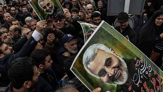 КСИР раскрыл обстоятельства убийства генерала Сулеймани