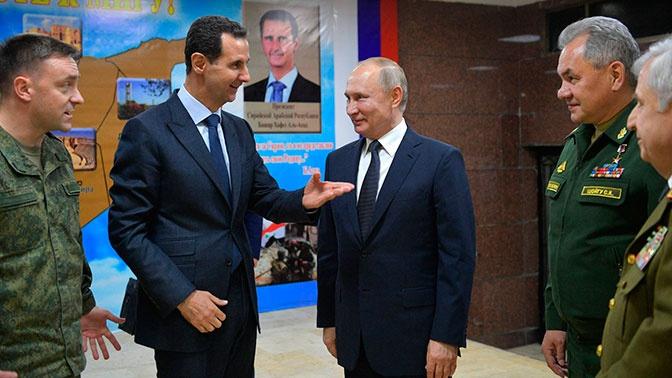 Сирийский визит: как прошла встреча Путина и Асада в Дамаске